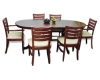 TOKYO  OVAL DINING TABLE SETS